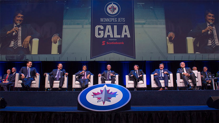 the best attitude ebb6d cb635 2016 Winnipeg Jets Gala Dinner - True North Youth Foundation ...
